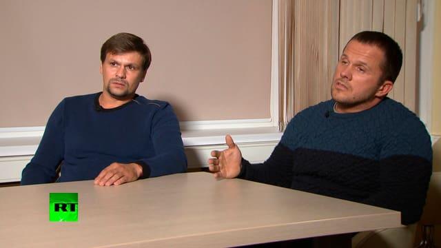 Ruslan Boshirov und Alexander Petrov
