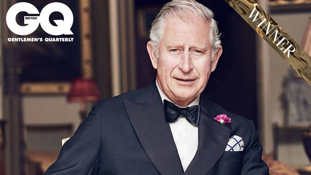 Prinz Charles im Anzug