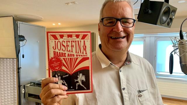 Richard Lehner stiess per Zufall auf die ehemalige Zirkusartistin Josefina Tanasa und ihre spannende Lebensgeschichte.