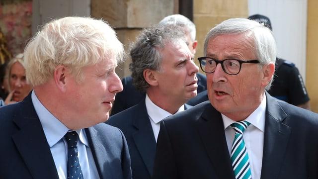 Johnson und Juncker.