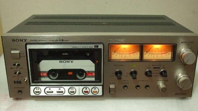 Kassettenrekorder von Sony