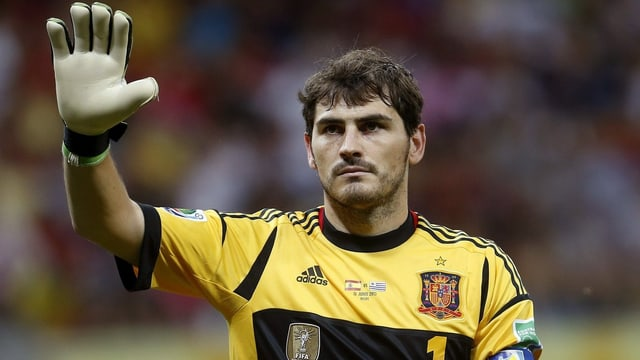 Iker Casillas tankt am Confederations Cup wieder Selbstvertrauen.