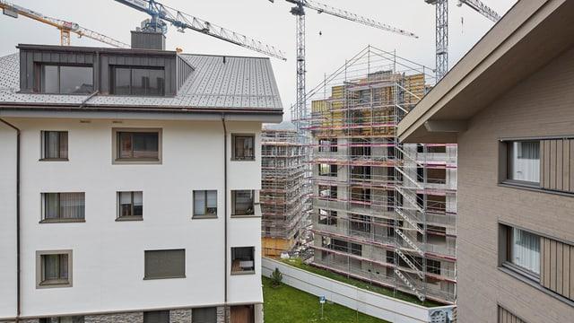 Neuerstellte Ferienwohnungen in Andermatt.