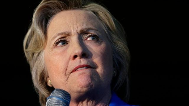 portrait da Hillary Clinton
