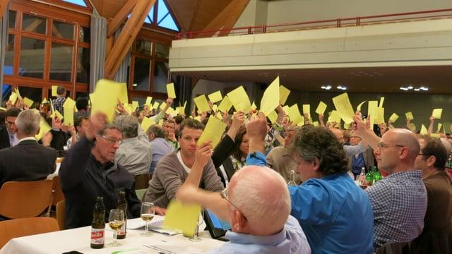 Abstimmung bei der Berner SVP