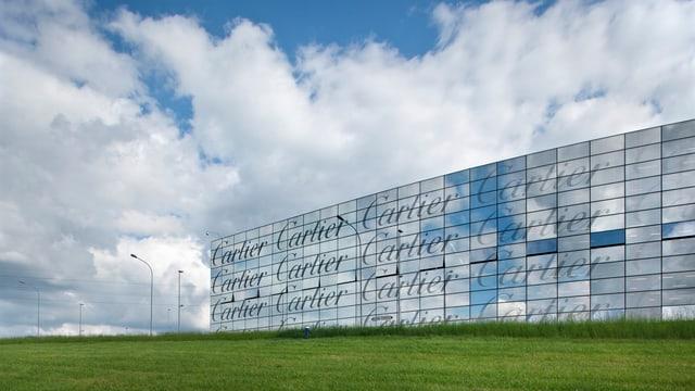 Cartier-Fabrik in Villars-sur-Glâne.