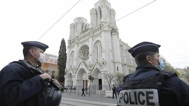 Zwei weitere Verdächtige in Nizza festgenommen