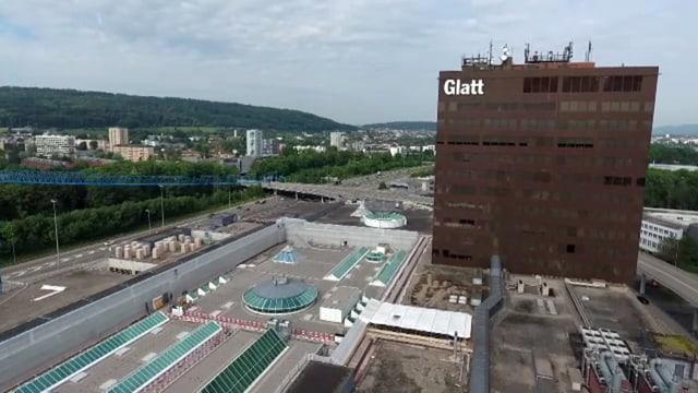 Aussenaufnahme Glattzentrum.