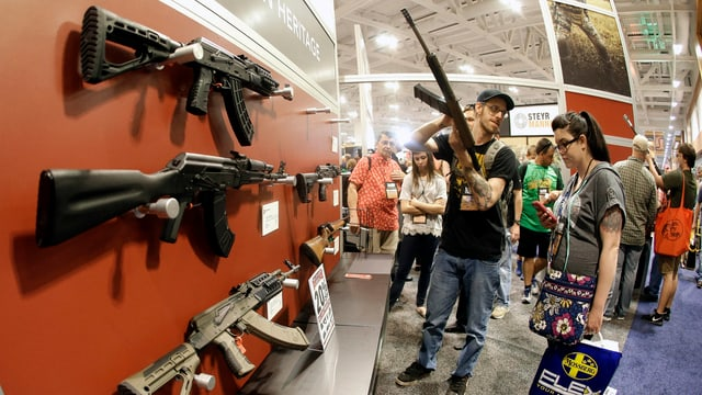 Waffenmesse der National Rifle Association in Nashville (2015).