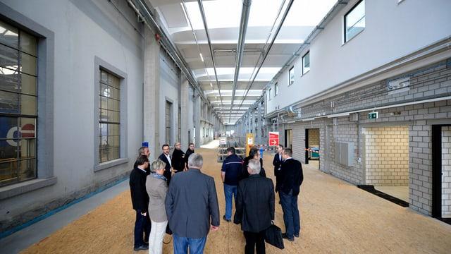 Maletg d'archiv: Center d'intervenziun da la SBB ad Erstfeld.