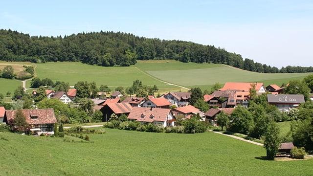 Ein Bild des Schlatter Ortsteils Oberschlatt.