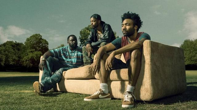 Earn (rechts) und seine Buddies in der Serie «Atlanta».