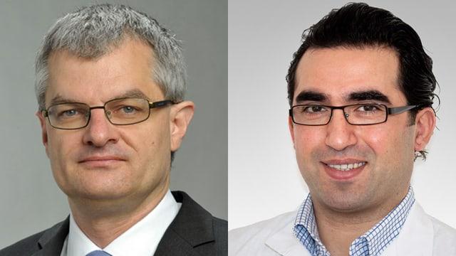 Prof. Alain Kaelin und Dr. Oguzkan Sürücü