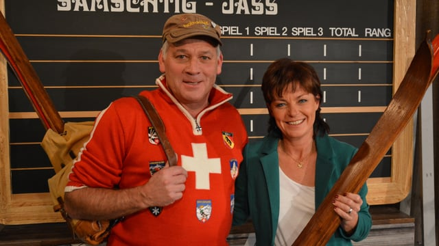 Video «Daniel Müller ist stolzer Besitzer einer der weltweit grössten alpinen Holzski-Sammlungen.» abspielen