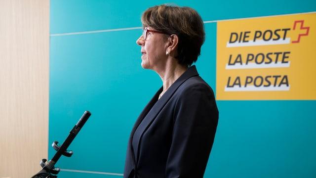 Post-Konzernchefin Susanne Ruoff geniesst nach wie vor das Vertrauen des Verwaltungsrates.