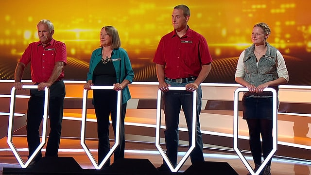 Video «Die Familie Blaser steht im «Wir mal vier» Finale!» abspielen