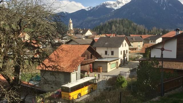 La vischnanca Albula/Alvra ha approvà il credit per bajegiar or ina via da guaud ad Alvaschagn.