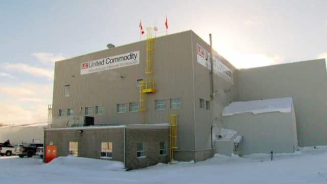 Gebäude von United Commodity