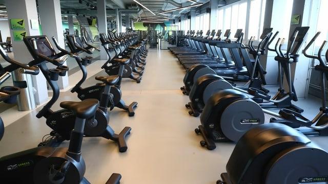 Leerstehende Fitnesscenter