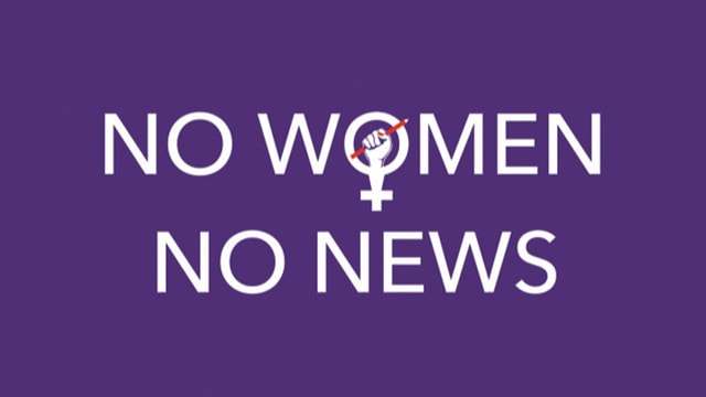 No women, no news
