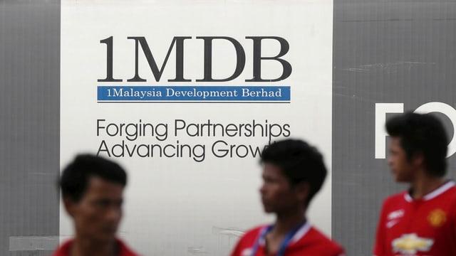 Plakat für 1MDB.