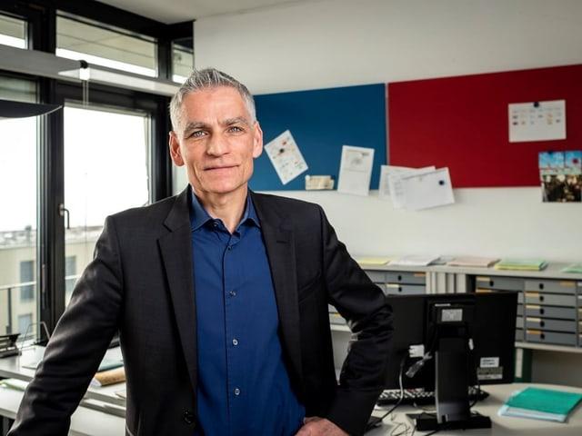 Markus Schwyn, il vicedirectur dal BfS e manader da la partiziun populaziun e furmaziun.