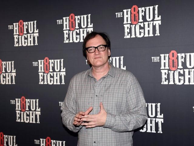 Quentin Tarantino ist kein Mann der Leisen