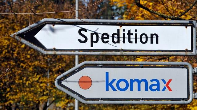 Logo da Komax