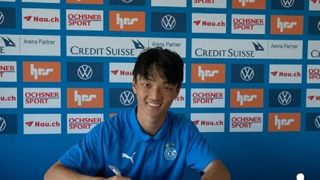 Ming-Yang Yang spielt neu für die Grasshoppers.