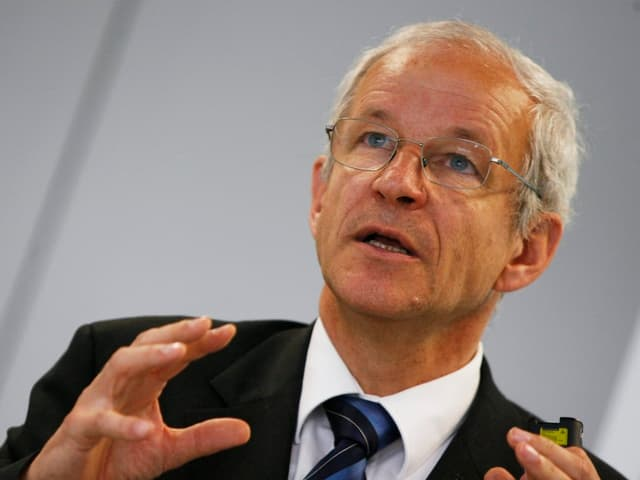 Der ETH-Präsident Ralph Eichler im Porträt.