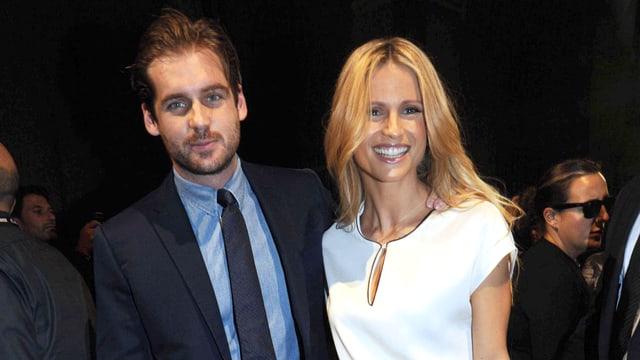 Michelle Hunziker mit ihrem Bald-Ehemann Tomaso Trussardi.