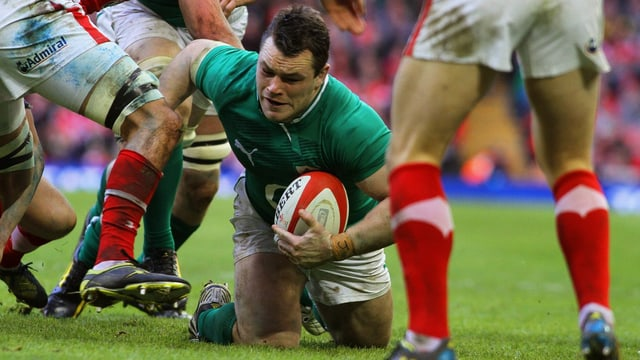 Irlands Rugby-Spieler Cian Heaney