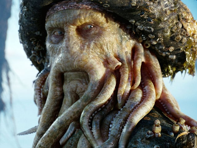 Bill Nighy als Davy Jones.