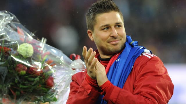 Markus Steinhöfer sagte dem FCB bereits Anfang Juni Adieu.