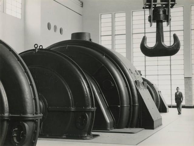 Kraftwerk Grande Dixence, 1942.