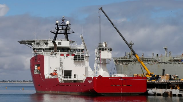Das australische Suchschiff «Ocean Shield».