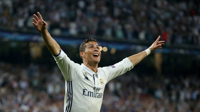 Cristiano Ronaldo in Jubelpose.