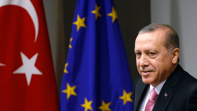 Il president tirc Erdogan.