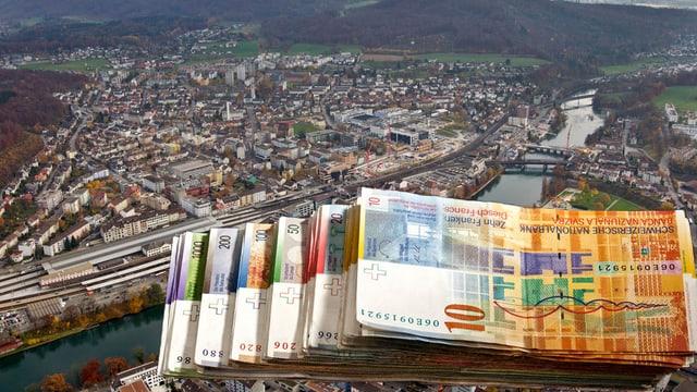 Geld und Stadt Olten