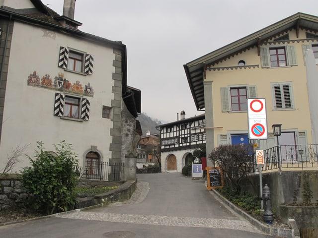 Eingang zum Städtchen Werdenberg