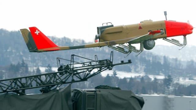 Eine Drohne der Schweizer Armee.