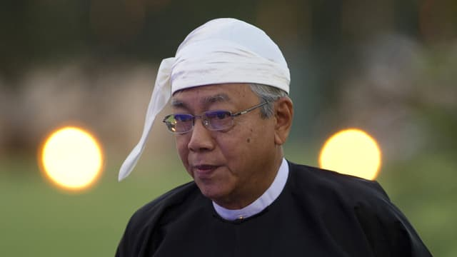 Htin Kyaw im Porträt