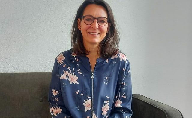 Start-up-Gründerin Nadia Fischer.
