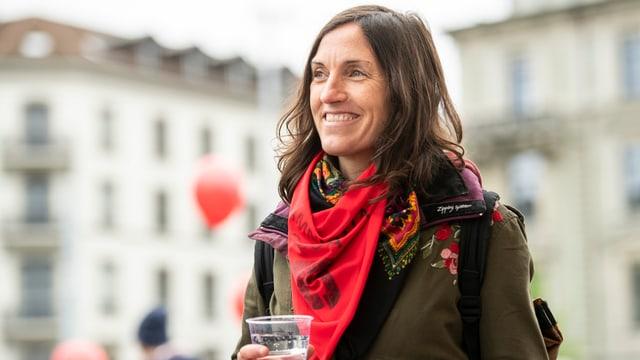 Nekane Txapartegi, baskische Aktivistin