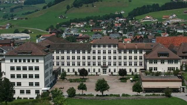 Das Gymnasium in Appenzell
