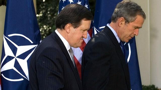 Robertson und Bush.