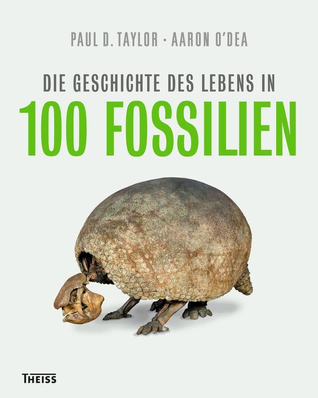 Buchcover von «Die Geschichte des Lebens in 100 Fossilien»