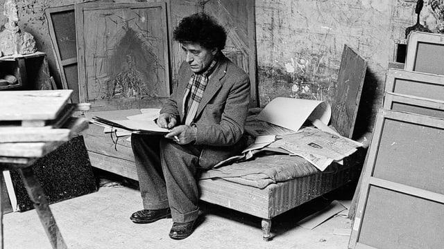 Video «Meister des Blickes - Alberto Giacometti» abspielen