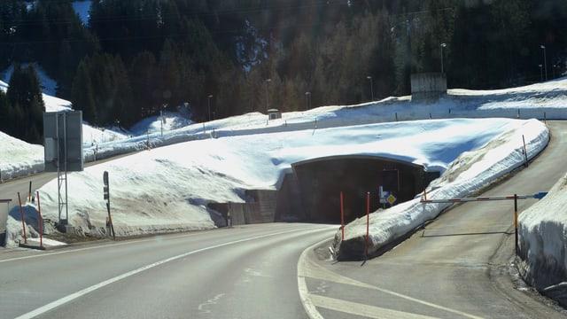 Il tunnel dal Gotschna