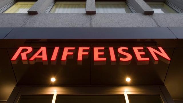 Logo da la banca Raiffeisen.